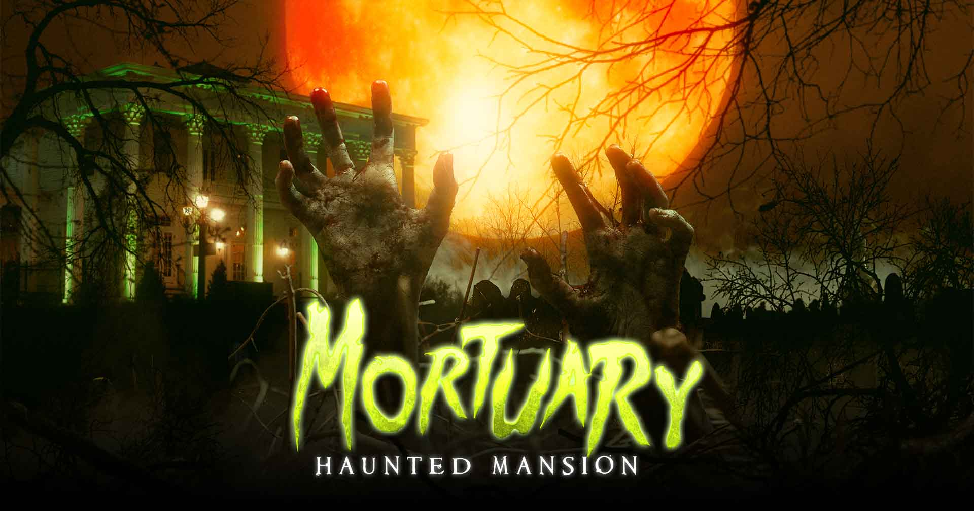 buy tickets for the mortuary haunted house