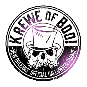 Krewe of Boo Logo - The Mortuary Haunted House